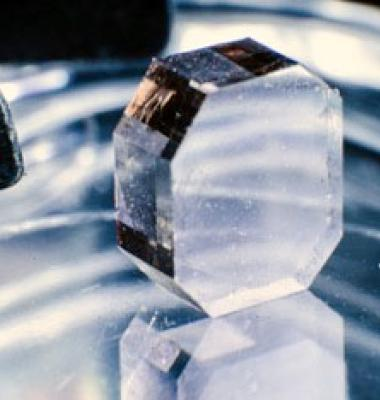 Photo of a diamond made in Fraunhofer CCD